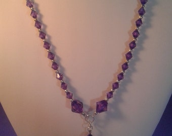 Purple Simply pretty necklace women and children hobbbies4twins