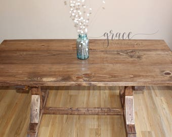 Breakfast Nook Farmhouse Table