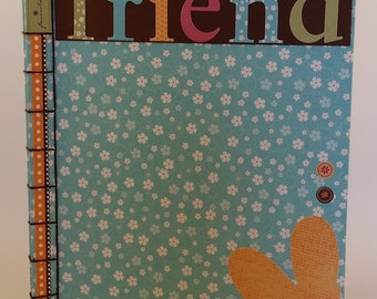 Friend Handmade Notebook