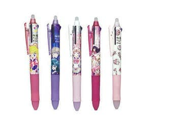 LIMITED EDITION sailor moon multi ink frixion pens