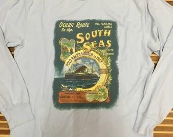 SALE 15% Vintage 90s POLO Sport Ralph Lauren Shirt Size M