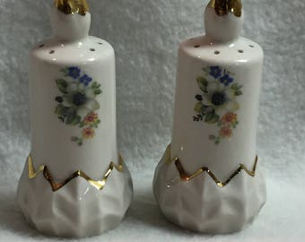 Salt and Pepper - Candles with Flowers (#039)