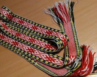 Latvian belt