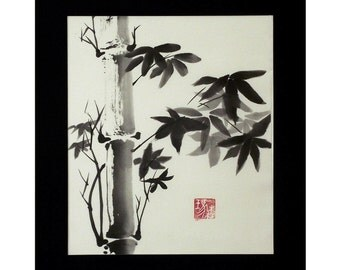 Bamboo, paper