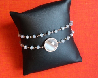 Double bracelet with Tablet