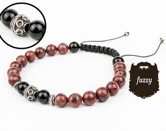 Men bracelet homme, Men buddhist bracelet, Mens bracelet, prayer bracelet, chakra bracelet, Mens mala jewelry, Men shambala bangle, Men zen