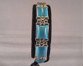 bracelet blue stones