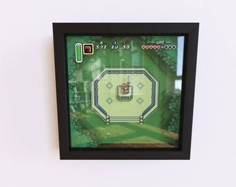 The Legend of Zelda - A Link to the Past 3D Shadow Frame