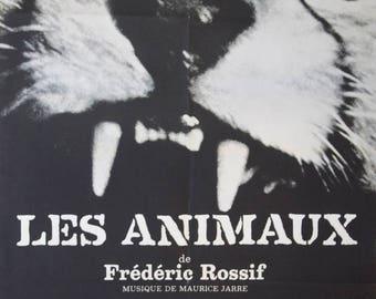 """Movie poster """"Les animaux"""" -Original-"""