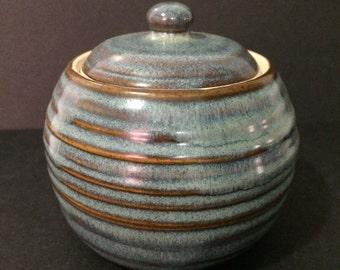 Sm. Lidded jar (Sale)