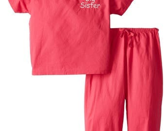 Big Sister Scrubs (Available in 3 Colors)