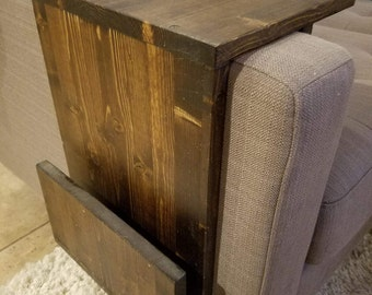 Arm Rest End Table