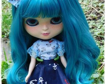 Sailor for Blythe Doll or similar body set