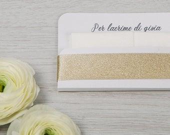 """Door tissues """"tears of joy""""-""""Golden Line"""""""