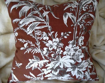 100% Cotton Throw Pillow Covers, Pillow Covers, Throw Pillow Covers, Decorative Pillow Cover, Brown Pillow Cover
