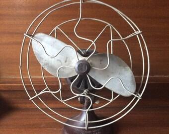 Barber Colman Vintage Fan Antique Fan Bakelite Base