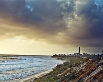 Sunset at the Beach - Carlsbad - Landscape Photography - Panorama