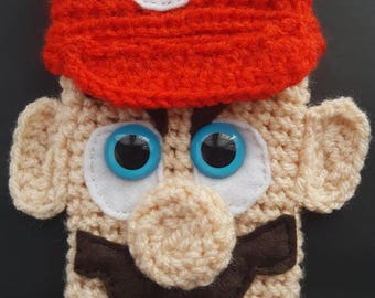 Knitted Mario Mobile Phone Case