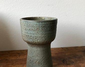 Mobach pale green / sea foam green  ceramic vase