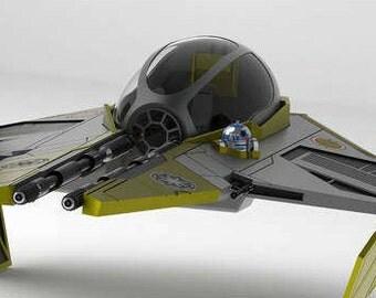 Star Wars Jedi Interceptor (3d file)
