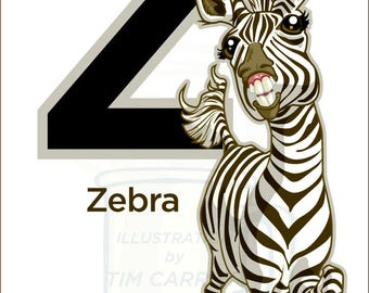 Z is for Zebra : Animal Alphabet