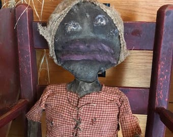 Extreme Primitive Doll August Moseby  SOLD