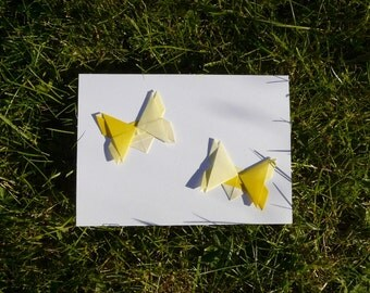 Origami Butterflies Card