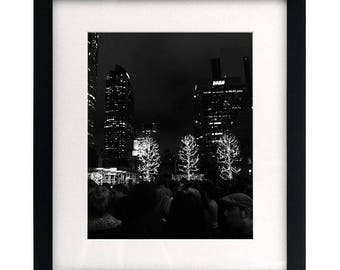 Christmas In LA (Framed & Matted)
