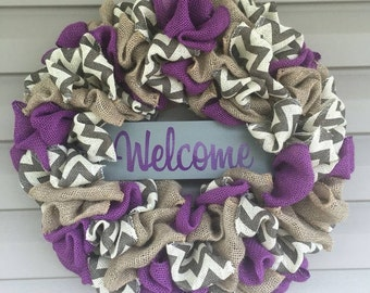 Custom Burlap Wreaths