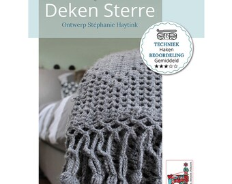 Crochet Pattern Blanket Sterre