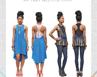 Victory Patterns Simone Dress and Blouse