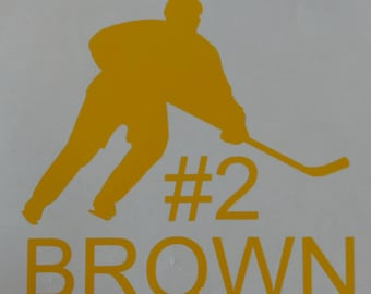 Sports Decal (Various sports available)