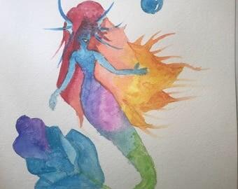 Mermaid Siren of the Sea