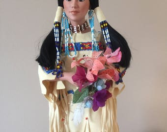 Morning Song Native American doll by Judy Belle
