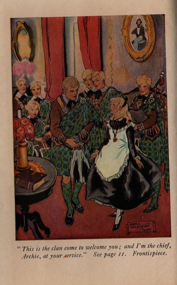 Eight Cousins or The Aunt-Hill - Louisa May Alcott - Harriet Roosevelt Richards - 1917 - Vintage Book