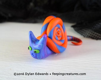 Snat Snail Cat - Feeping Creatures monster figurine