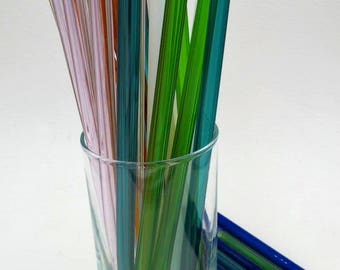 Eco Friendly Glass Straws One Straw