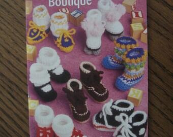 Crochet Baby Bootie Boutique booklet