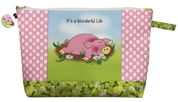 Piggy - It's a Wonderful Life Zippered Pouch Kit