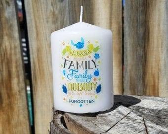 Ohana family 2x3 Pillar Candle