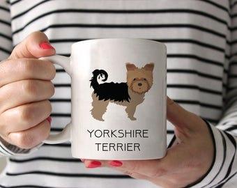 Yorkshire Terrier Coffee Mug - Yorkshire Terrier Ceramic Mug  - Dog Mug - Yorkshire Terrier Lover Gift - Yorkie Coffee Mug - Yorkie gift