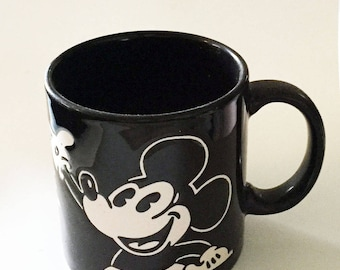 Vintage Disney Mickey Mouse Mug