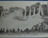 Postcard Paris France Neptune Fountain Parc de Versailles Antique Divided Back