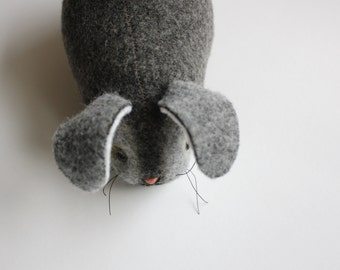 Morning Bunny - Wool Plush