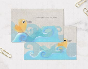 Calling Cards - Baby Duck - My drawing with your information