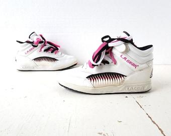 Vintage LA Gear Shoes | 80 Sneakers | 90s Shoes | Size 8