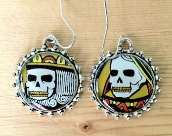 Dead Royalty Earrings