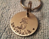 On Sale Mermaid at heart, Mermaid Keychain,Siren of the Sea, I am a mermaid,Mermaid lover, I'm really a mermaid, Ocean Siren keychain, Ready