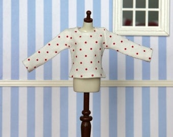 Long sleeved t-shirt for Blythe (no. 1433)