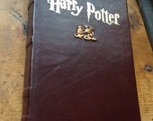 Leather Bound Harry Potter and the Sorcerer's Stone Book I Made to Order